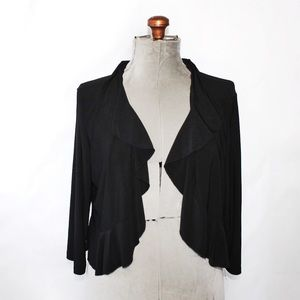 🎀3/$30 Jessica Black Cardigan Shrug Sweater XL